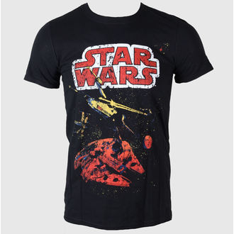 tričko pánské Star Wars - Xwing Gradient - LIVE NATION - Black - PE11685TSBP