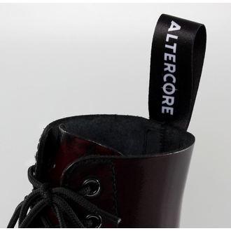 boty ALTERCORE - 10dírkové - Burgundy Rub-Off