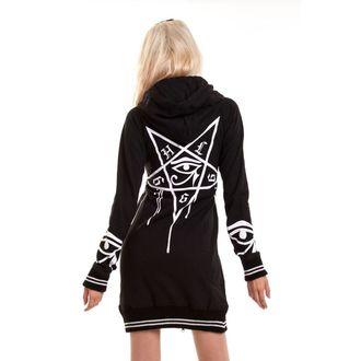 mikina dámská HEARTLESS - Dark Occult - Black