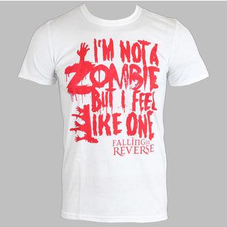 tričko pánské Falling In Reverse - Zombie (White) - PLASTIC HEAD - PH7519