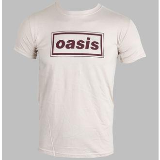tričko pánské Oasis - Classic Logo (Brown) - PLASTIC HEAD, PLASTIC HEAD, Oasis