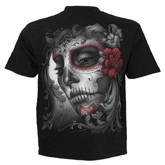 tričko pánské SPIRAL - SUGAR DOLL - BLK - DT237600