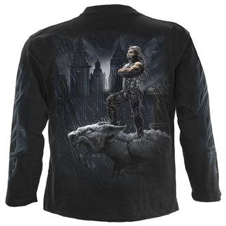 tričko pánské s dlouhým rukávem SPIRAL - ENFORCER - BLK - DW209700