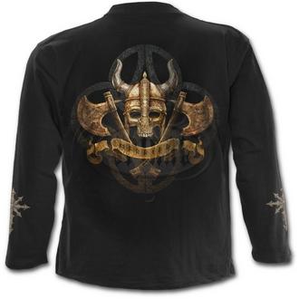 tričko pánské s dlouhým rukávem SPIRAL - CELTIC PIRATES - BLK - L024M301