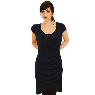 šaty dámské SPIRAL - Gothic Elegance - Black - P001F126