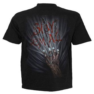 tričko pánské SPIRAL - ZOMBIE KILLER - BLK - TR378600