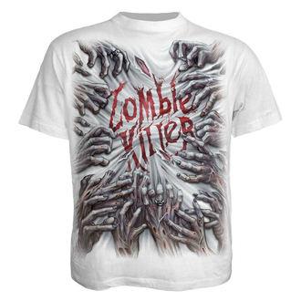 tričko pánské SPIRAL - ZOMBIE KILLER - WHITE