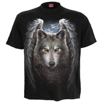 tričko pánské SPIRAL - LYCOS WINGS - BLK