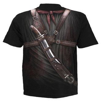 tričko pánské SPIRAL - HOLSTER WRAP - BLK, SPIRAL