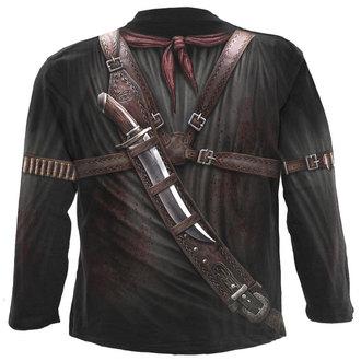 tričko pánské s dlouhým rukávem SPIRAL - HOLSTER WRAP - BLK, SPIRAL