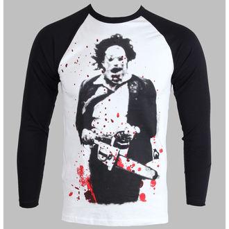 tričko pánské s dlouhým rukávem Texas Chainsaw Massacre - Leatherface - PLASTIC HEAD - PH7231