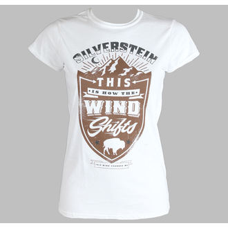 tričko dámské Silverstein - Crestl - PLASTIC HEAD, PLASTIC HEAD, Silverstein