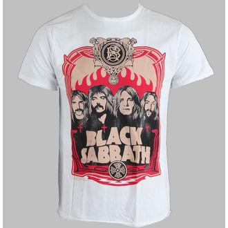tričko pánské Black Sabbath - AMPLIFIED - White - AV210BKT