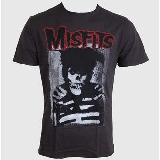 tričko pánské Misfits - AMPLIFIED - Charcoal - AV210MIS
