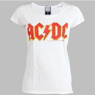 tričko dámské AC/DC - Logo - AMPLIFIED - White - AV601ACL