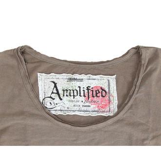 tričko dámské Mötley Crüe - Tour 87 - AMPLIFIED - Khakil, AMPLIFIED, Mötley Crüe