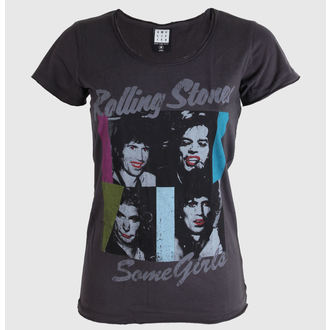 tričko dámské Rolling Stones - Some Girls - AMPLIFIED - Charcoal - AV601SOM