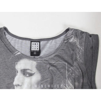 tričko dámské (top) Amy Winehouse - Club 27 Fishtail - AMPLIFIED - Black