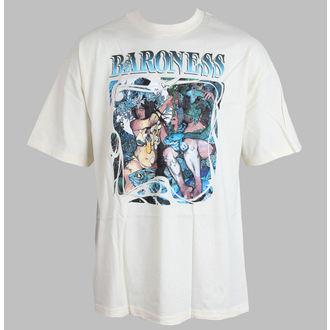 tričko pánské Baroness - Blue record - Cream - RELAPSE, RELAPSE, Baroness