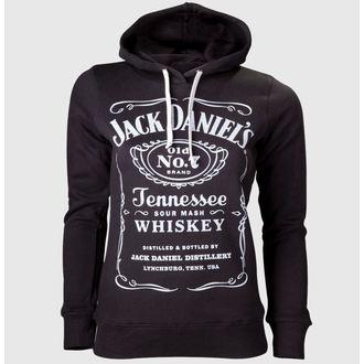mikina dámská Jack Daniels - Black, JACK DANIELS
