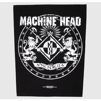 nášivka velká Machine Head - Crest - RAZAMATAZ, RAZAMATAZ, Machine Head