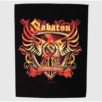 nášivka velká Sabaton - Coat Of Arms - RAZAMATAZ, RAZAMATAZ, Sabaton