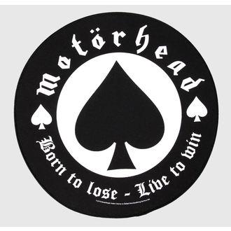 nášivka velká Motörhead - Born to Lose - RAZAMATAZ, RAZAMATAZ, Motörhead