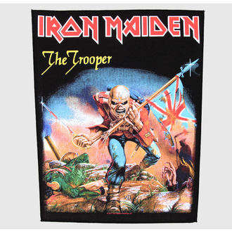 nášivka velká Iron Maiden - The Trooper - RAZAMATAZ, RAZAMATAZ, Iron Maiden