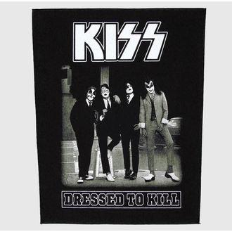 nášivka velká Kiss - Dressed To Kill - RAZAMATAZ, RAZAMATAZ, Kiss