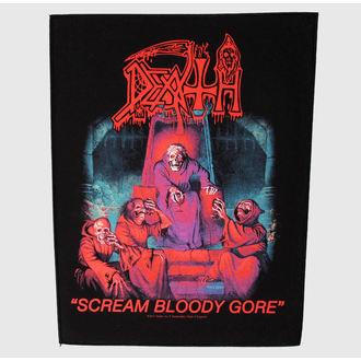 nášivka velká Death - Scream Bloody Gore - RAZAMATAZ, RAZAMATAZ, Death