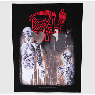 nášivka velká Death - Human - RAZAMATAZ, RAZAMATAZ, Death