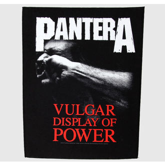 nášivka velká Pantera - Vulgar Display Of Power - RAZAMATAZ, RAZAMATAZ, Pantera