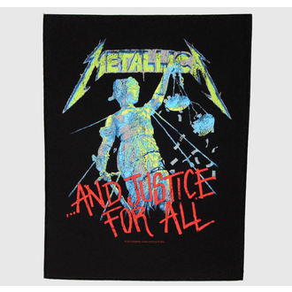 nášivka velká Metallica - And Justice For All - RAZAMATAZ
