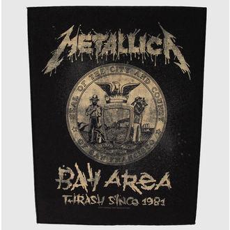 nášivka velká Metallica - Bay Area Trash - RAZAMATAZ - BP0955