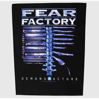 nášivka velká Fear Factory - Demanufacture - RAZAMATAZ, RAZAMATAZ, Fear Factory