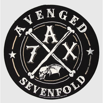 nášivka velká Avenged Sevenfold - A7X - RAZAMATAZ, RAZAMATAZ, Avenged Sevenfold