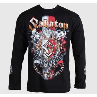 tričko pánské s dlouhým rukávem Sabaton -Swedisch Empire Live - Black - CARTON, CARTON, Sabaton