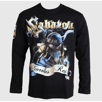 tričko pánské s dlouhým rukávem Sabaton - Carolus Rex - Black - CARTON - LS_389