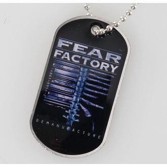obojek (psí známka) Fear Factory - Demanufacture - RAZAMATAZ, RAZAMATAZ, Fear Factory