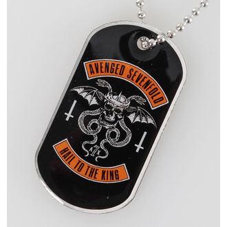 obojek (psí známka) Avenged Sevenfold - Biker - RAZAMATAZ, RAZAMATAZ, Avenged Sevenfold