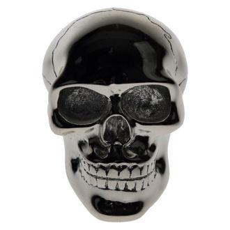 dekorace -hlavice řadící páky- Silver Skull Gear, Nemesis now