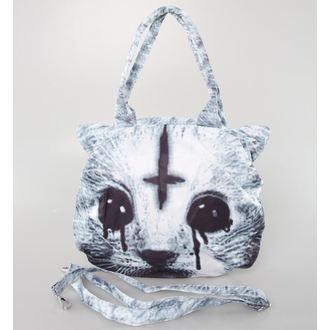 kabelka (taška) POIZEN INDUSTRIES - Hell Cat - Black, POIZEN INDUSTRIES