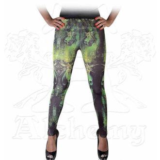 kalhoty dámské (legíny) ALCHEMY GOTHIC - Absinthe Fairies, ALCHEMY GOTHIC