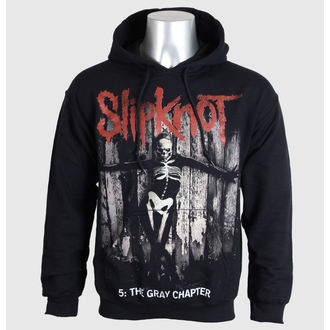 mikina pánská Slipknot - 5 The Gray Chapter - Blk - BRAVADO EU, BRAVADO EU, Slipknot