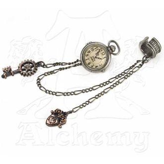 náušnice ALCHEMY GOTHIC - Uncle Albert's Timepiece - E349