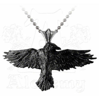 obojek ALCHEMY GOTHIC - Black Raven - P193
