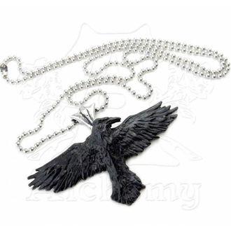 obojek ALCHEMY GOTHIC - Black Raven
