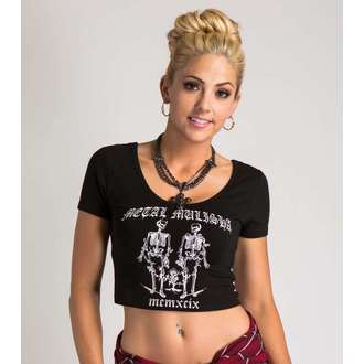 tričko dámské METAL MULISHA - GOOD VS EVIL - BLK