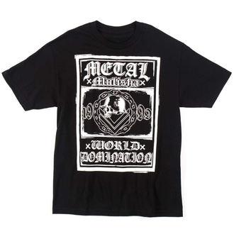 tričko pánské METAL MULISHA - SAVAGE - BLK