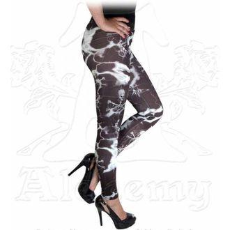 kalhoty dámské (legíny) ALCHEMY GOTHIC - Electric Skulls